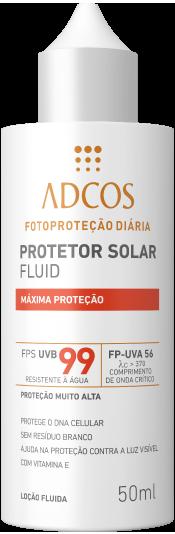 Filtro Solar Fluid FPS 99. Máxima Proteção b34a2d1e4a